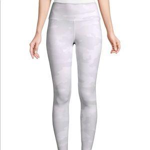 Alo yoga white camo leggings